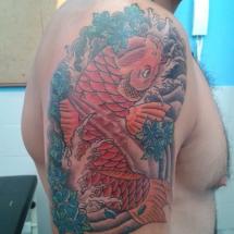 Carpa Azul Tattoos
